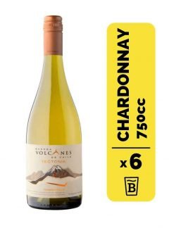 6 Vino Volcanes Tectonia Chardonnay 750cc