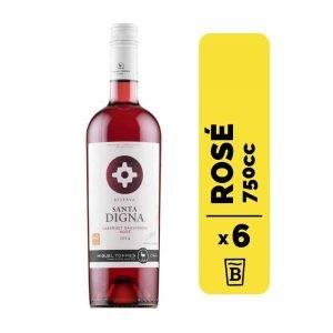 6 Vino Santa Digna Cabernet Sauvignon Rose 750cc