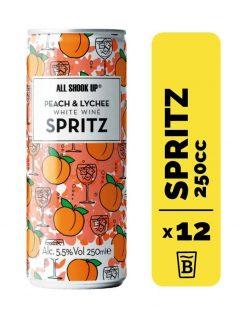 12 All Shook Up Peach & Lychee Spritz Lata 250cc