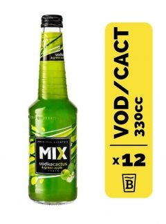 12 Cocktail Mix Vodka Cactus&Green Apple 330cc