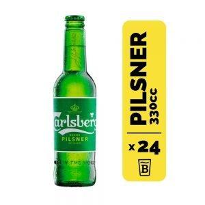 24 Cervezas Carlsberg 330cc