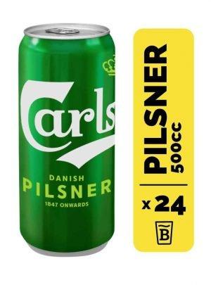 24 Cervezas Carlsberg 500cc