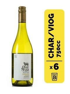 6 Vino Oveja Negra Reserva Chardonnay/Viognier 750cc
