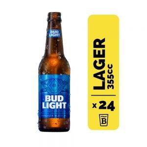 24 Cervezas Bud Light 355cc