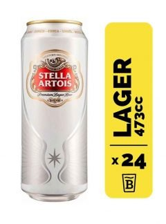 24 Cervezas Stella Artois 473cc