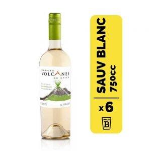 6 Vino Volcanes Varietal Sauvignon Blanc 750cc