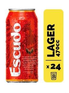 24 Cervezas Escudo 470cc