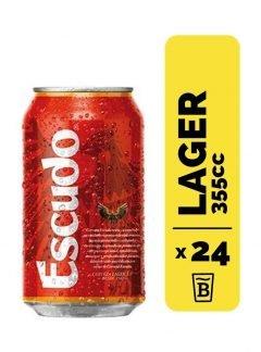 24 Cervezas Escudo 355cc