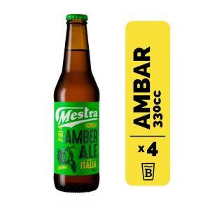 4 Cervezas Mestra Amber Ale 330cc