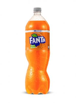 Bebida Fanta Zero No Retornable 1.5 Litros