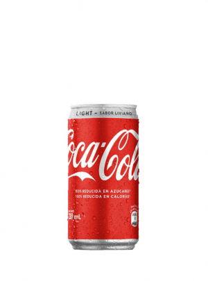 Bebida Coca Cola Light Lata 220Cc