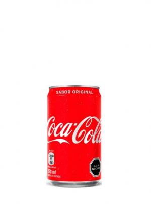 Bebida Coca Cola Lata 220Cc