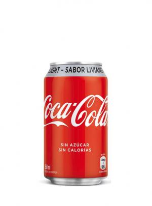 Bebida Coca Cola Ligth Lata 350Cc