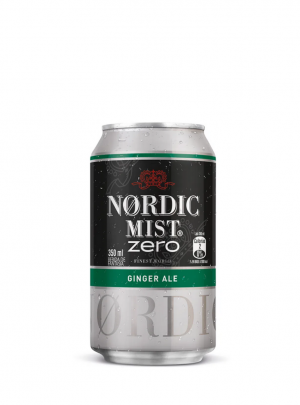 Bebida Nordic Ginger Ale Zero Lata 350Cc